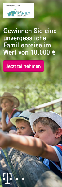 Telekom Gewinnspiel – Familienurlaub